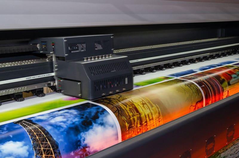 Druckerkopf beim Digitaldruck von Fotos in Düsseldorf